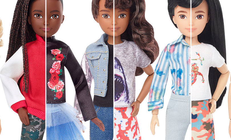 Mattel Launches Line of Gender-Neutral Dolls