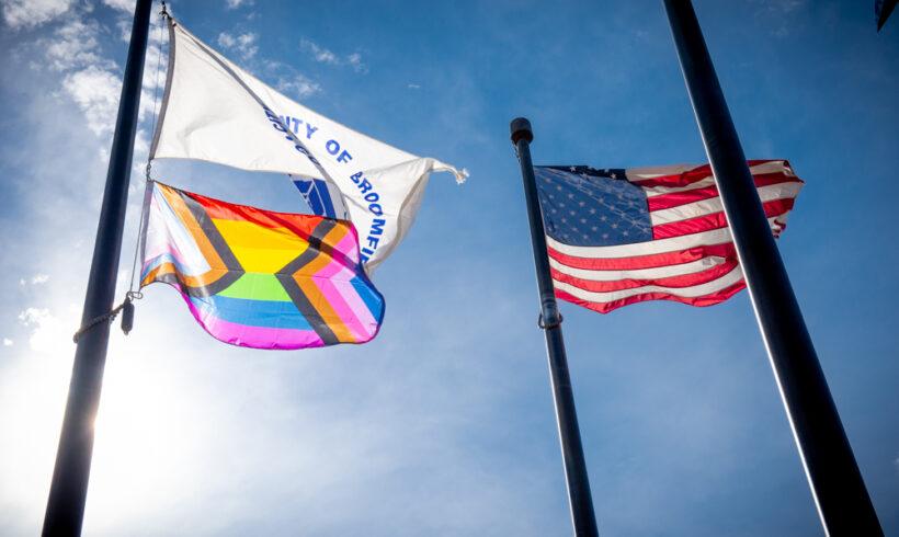LGBTQIA+ Flag Raising Ceremony