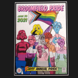 First Annual Broomfield Pride T-Shirt