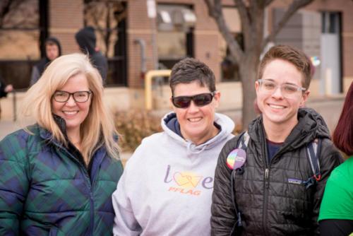 Parasol Patrol Volunteers and PFLAG Boulder County