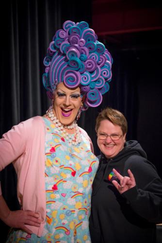 Shirley Delta Blow and Rainfrog Interpreter Kendra MacNicol