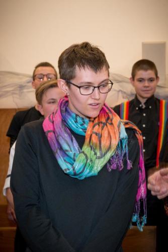 Soloist from the Phoenix Trans Community Choir