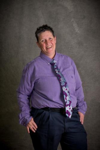 Tobi, the President of PFLAG Boulder County